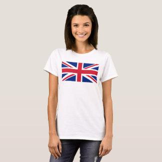 イギリスの英国国旗の旗の1:2のスケール Tシャツ