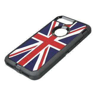 イギリスの英国国旗の旗 オッターボックスディフェンダーiPhone 8 PLUS/7 PLUSケース