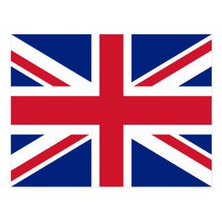 イギリスの英国国旗の旗-確実な版 ポストカード