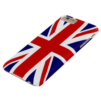 イギリスの英国国旗の旗 BARELY THERE iPhone 6 PLUS ケース