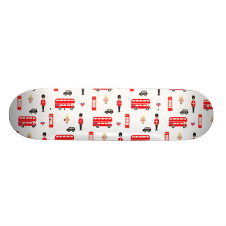 イギリスの記号パターン 20.6CM スケートボードデッキ