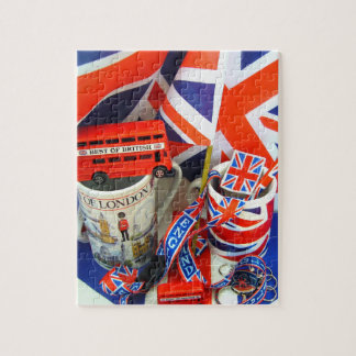 イギリスの記念品のベスト ジグソーパズル
