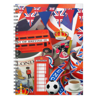 イギリスの記念品 ノートブック