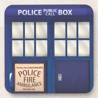 イギリスの警察箱 コースター