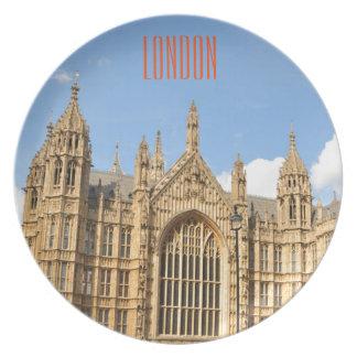 イギリスの議会 プレート