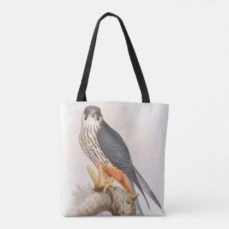 イギリスの趣味の《鳥》ハヤブサのジョンGouldの鳥 トートバッグ