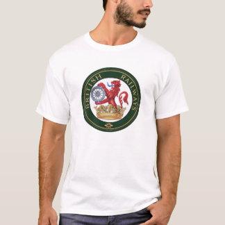 イギリスの鉄道のヴィンテージの印のTシャツ Tシャツ