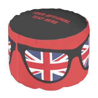 イギリスの陰のカスタムのpouf プーフ