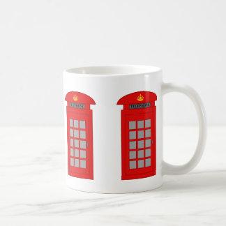 イギリスの電話ボックス コーヒーマグカップ