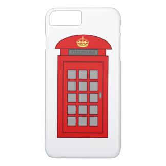 イギリスの電話ボックス iPhone 8 PLUS/7 PLUSケース