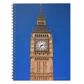 イギリスの首都のビッグベン ノートブック
