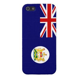 イギリスの香港の旗のiPhone 5の場合 iPhone SE/5/5sケース