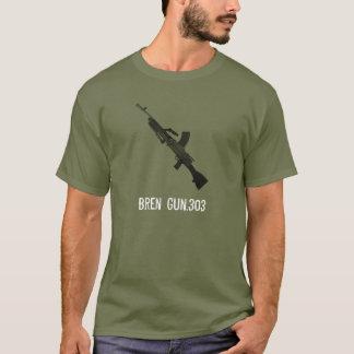 イギリスのBren銃.303.Armyのティー Tシャツ