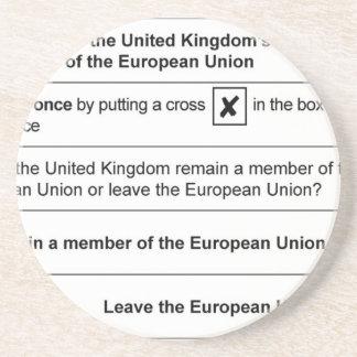 イギリスのBrexitの国民投票 コースター