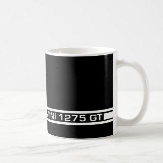 イギリスのLeylandの小型Clubman 1275GTのストライプなマグ コーヒーマグカップ