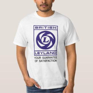 イギリスのLeyland -満足の保証 Tシャツ