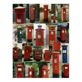 イギリスのpostboxes ポストカード