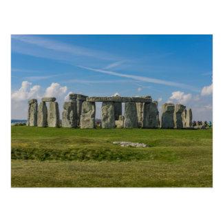 イギリスのStonehenge ポストカード