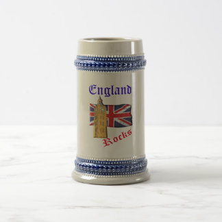 イギリスはステインを揺すります ビールジョッキ