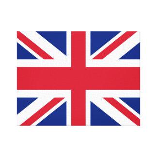 イギリスまたはイギリスの(英国国旗)旗のキャンバス キャンバスプリント
