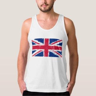 イギリスまたは英国国旗の旗 タンクトップ