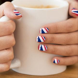 イギリスまたは英国国旗の旗 ネイルアート