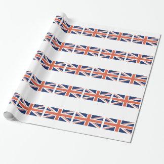 イギリスイギリスに旗の英国国旗の包むこと ラッピングペーパー