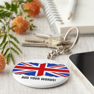 イギリスイギリスの旗 キーホルダー