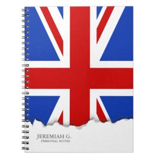 イギリスイギリスの旗 ノートブック