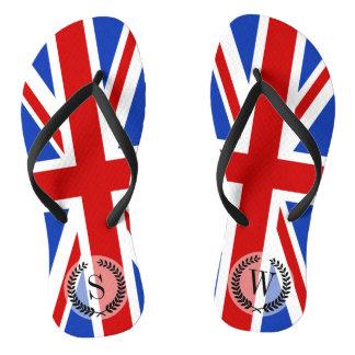 イギリスイギリスの旗 ビーチサンダル