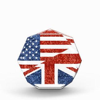 イギリスグリッター米国 表彰盾