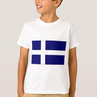イギリスシェトランド諸島島の旗 Tシャツ