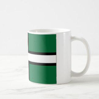 イギリスデボン旗 コーヒーマグカップ