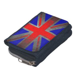 イギリスネオングランジな旗のデニムの札入れ ウォレット