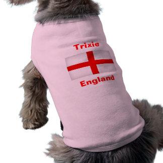 イギリスファン犬の旗のデザインのTシャツ ペット服