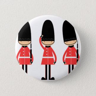 イギリスロンドンの監視デザイン 5.7CM 丸型バッジ