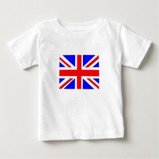 イギリス乳児のTシャツ ベビーTシャツ