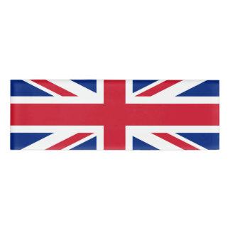 イギリス名札の旗 名札