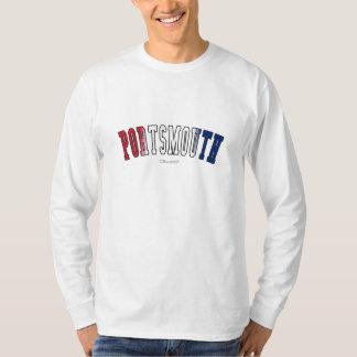 イギリス国旗色のポーツマス Tシャツ