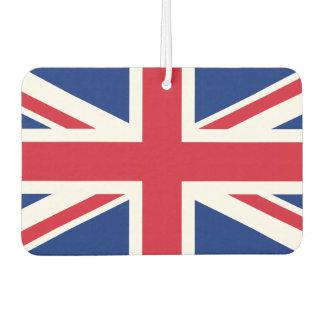 イギリス国民の世界の旗 カーエアーフレッシュナー