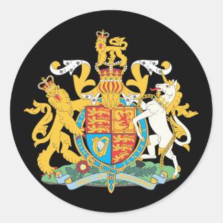 イギリス国章 ラウンドシール