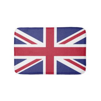 イギリス愛国心が強い旗 バスマット