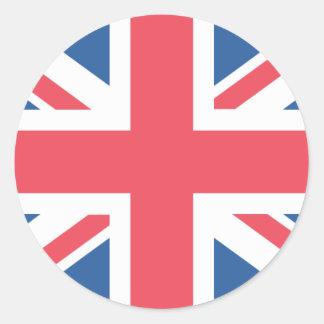 イギリス旗 ラウンドシール