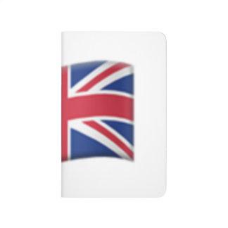 イギリス旗- Emoji ポケットジャーナル