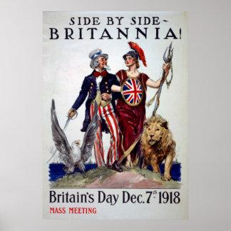 イギリス日のヴィンテージポスター ポスター