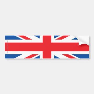 イギリス明白な旗 バンパーステッカー