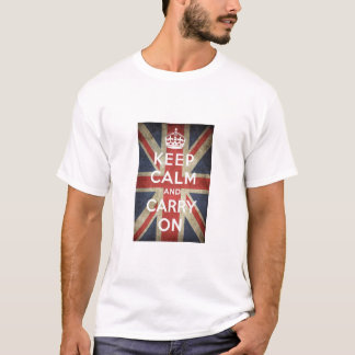 イギリス穏やかなTシャツを保って下さい Tシャツ
