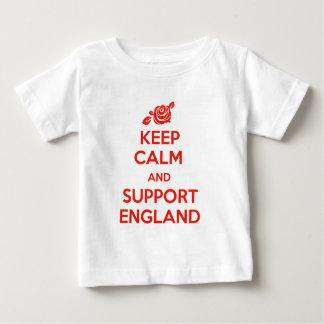 イギリス穏やか、サポート保って下さい ベビーTシャツ