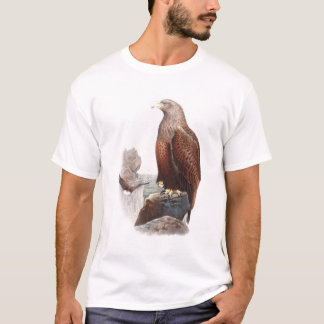 イギリス自然のオオワシのジョンGouldの鳥 Tシャツ
