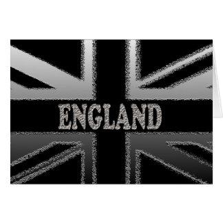 イギリス英国国旗のモダンな旗の芸術 カード